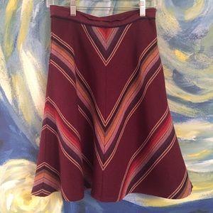 Anthropologie rainbow skirt! 🌈